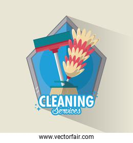 Cleaning service and housekeeping
