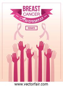 Breast Cancer Awareness Fundraiser Design