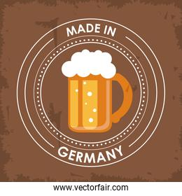 Germany design. Culture icon. vector illustration