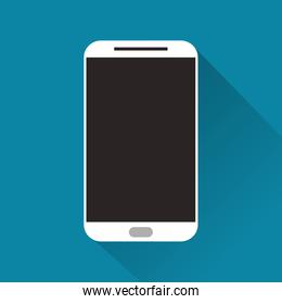 smartphone gadget technology communication icon. Vector graphic