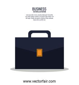 suitcase bag business icon.