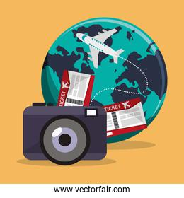 Time to travel vacations design