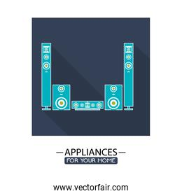 electronic appliances for home design