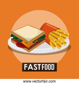 sandwich and fast food design