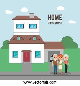 Home house building and family design