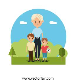 Family relationship avatar and generation design