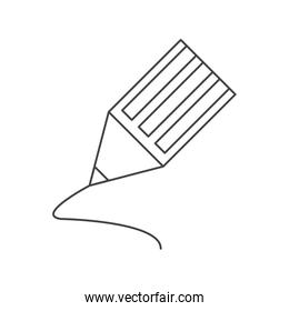 Pencil object and school tool design