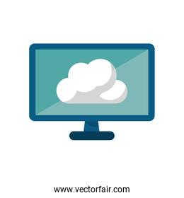 Isolated cloud computing design