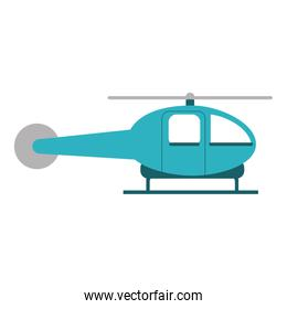 Isolated helicopter vehicle design