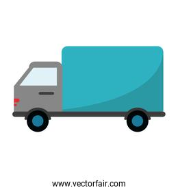 Isolated truck vehicle design