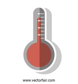 Isolated thermometer design