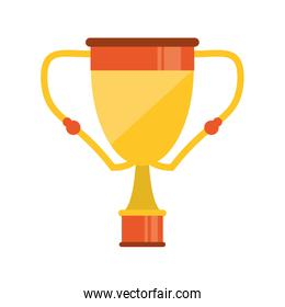 Isolated trophy cup design