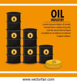 Oil price and industry design
