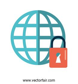 global connection lock security system technology