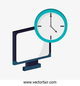computer device technology clock time