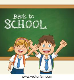 back to school student uniform education
