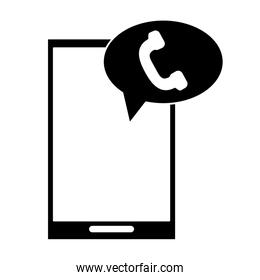 silhouette mobile phone telephone call communication