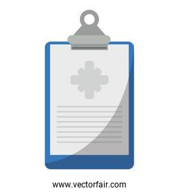 clipboard medical report clinic