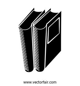 book library read learn pictogram