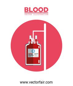 blood bag transfusion symbol