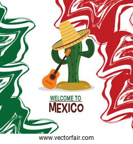 welcome to mexico travel poster