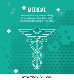 medical health care service symbol