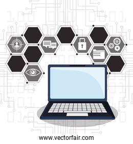 cyber security laptop online privacy