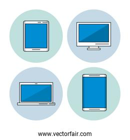 Smartphone tablet and computer