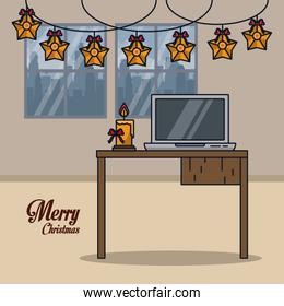 Christmas in office