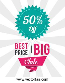 Shopping big sales and discounts