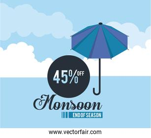 Monsoon big sales and discounts