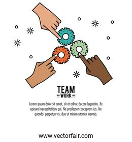 Young business teamwork