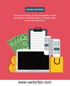 Online shopping with bitcoins