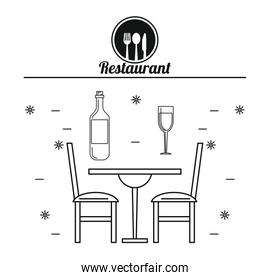 Restaurant and food concept