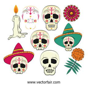 Day of the Dead items pack