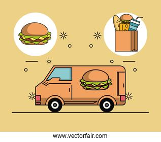 orders and food deliveries