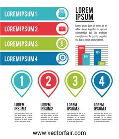 infographic various diagrams