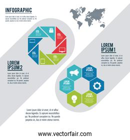 infographic styles and organization