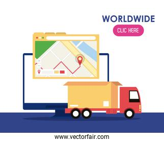 Worldwide delivery click here