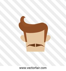 Hipster style icon design