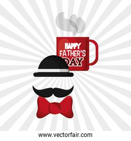 Icon of fathers day design , vector illustration