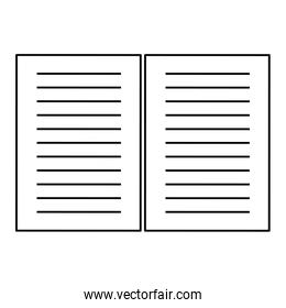 lined paper , Vector illustration