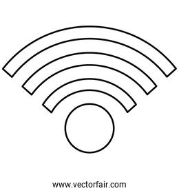 simple wifi icon