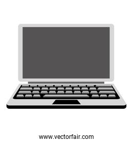 grey laptop icon