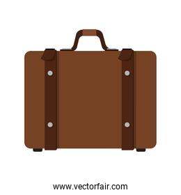 brown suitcase icon