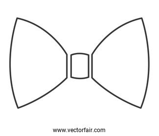 simple bowtie icon