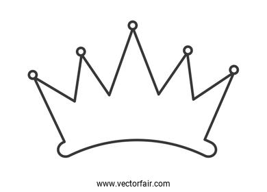 simple crown silhouette
