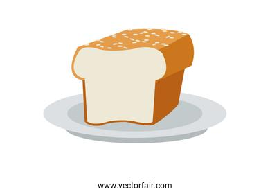 simple bread icon