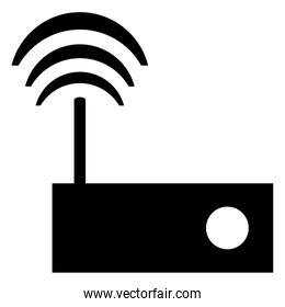 wi-fi router modem icon