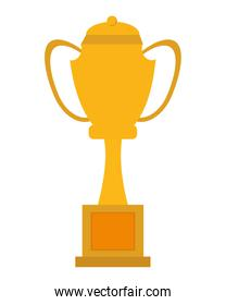 yellow trophy cup icon